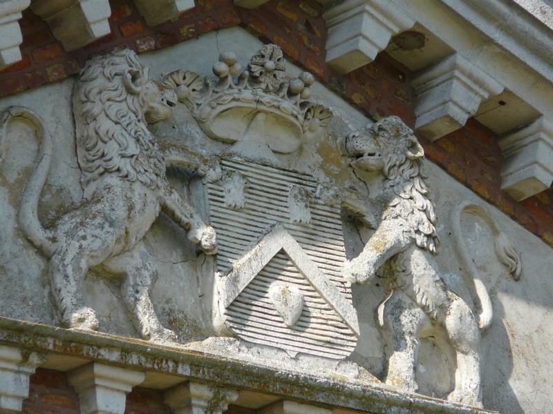 Armoiries du château de Bois Guilbert
