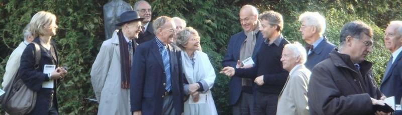 Photographie des donateurs et mécènes du château de Bois-Guilbert
